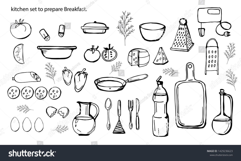 ization view of the elements for the kitchen set to prepare Breakfast. #Sponsored , #spon, #elements#view#ization#kitchen