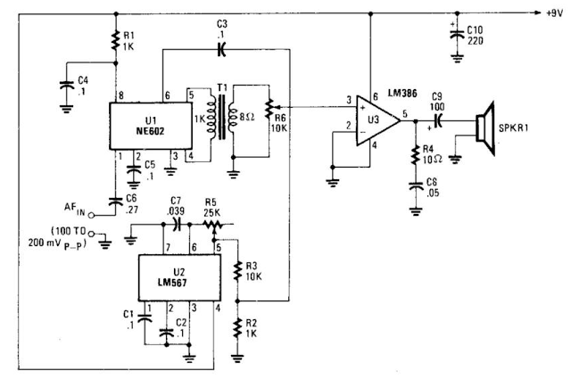 Voice Scrambler or Descrambler Circuit Diagram | electronics ...