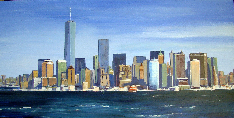 N.Y. City Acrílico