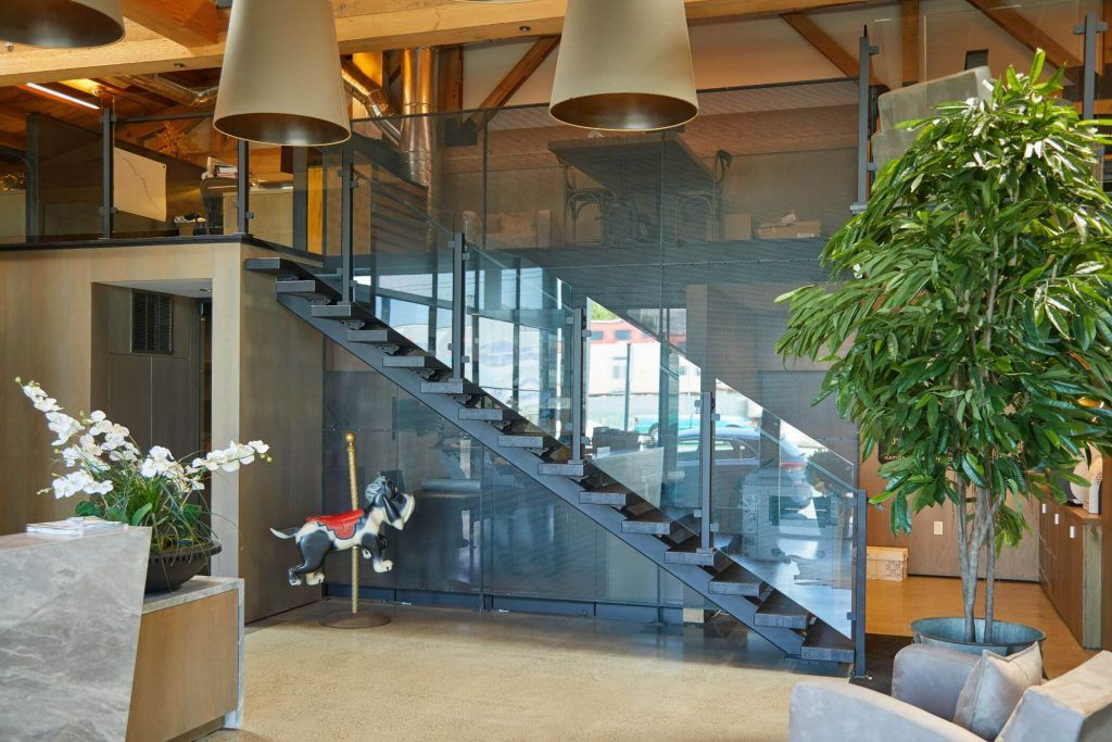 Clear Glass Railing for Indoors Viewrail Modern