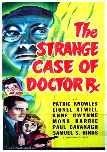 Download The Strange Case of Doctor Rx Full-Movie Free