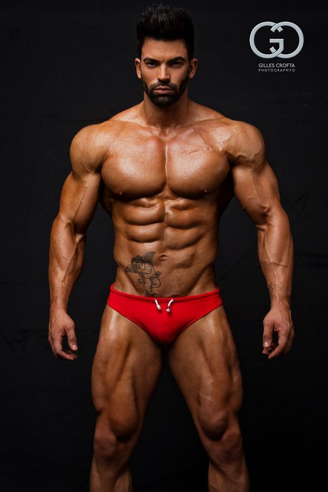 Sergi Constance El Hombre Male Power Body Building Men Muscle