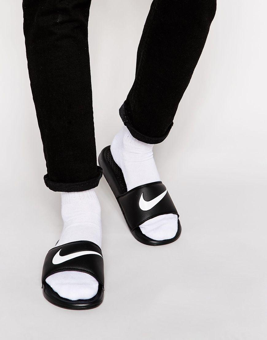 d6b9e88c917 Nike Benassi Slider Flip Flops 312618-011