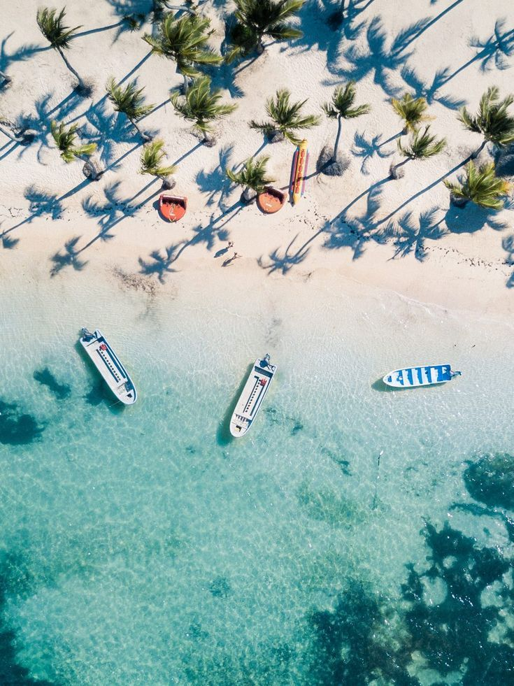 Clear blue water and white sand, Dominican Republic   Clear Blue Water in Punta Cana   Tropical Paradise Beach Getaways in the Caribbean   Islands Near North America
