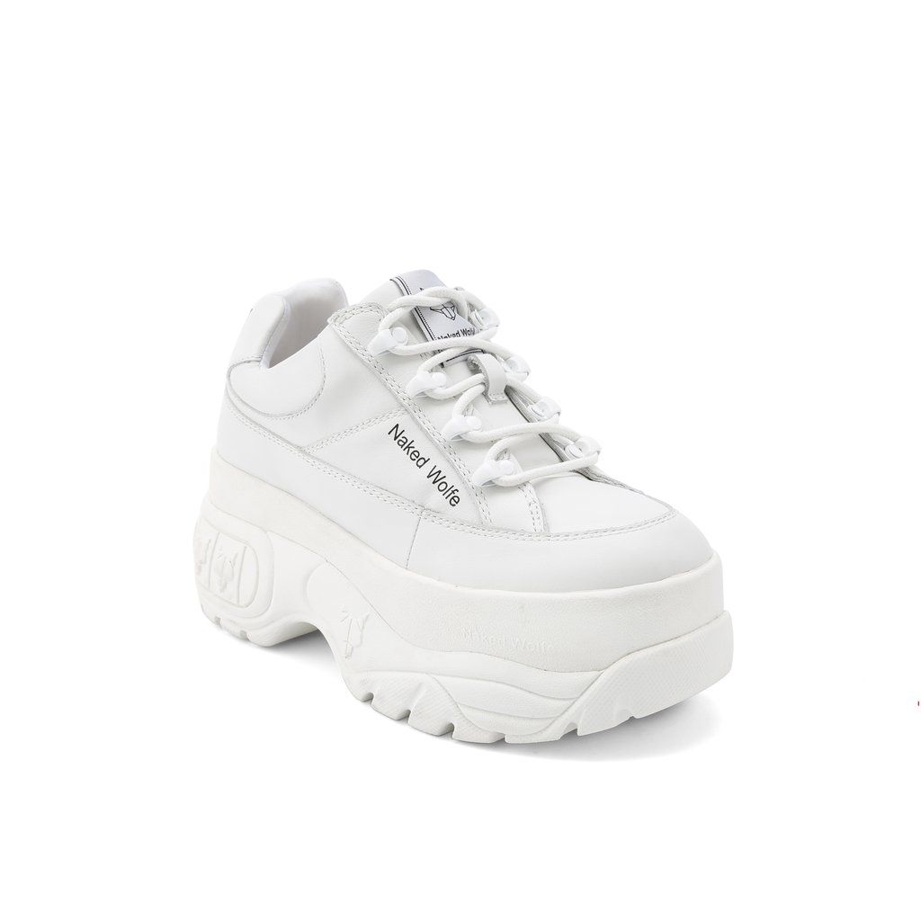 beb375279fb Sporty White Leather – Naked Wolfe