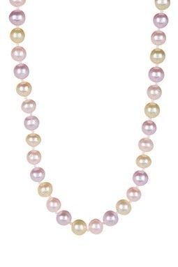 Multicolor 6-7mm Freshwater Pearl Necklace
