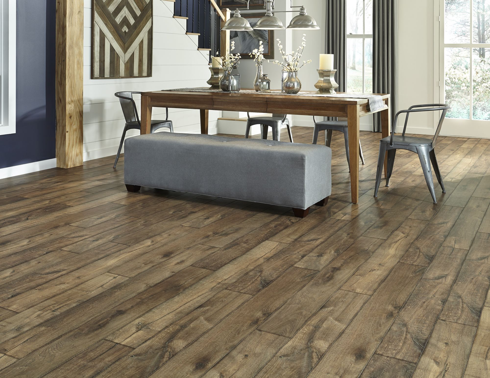 Antique Farmhouse Hickory A Dream Home Laminate With A