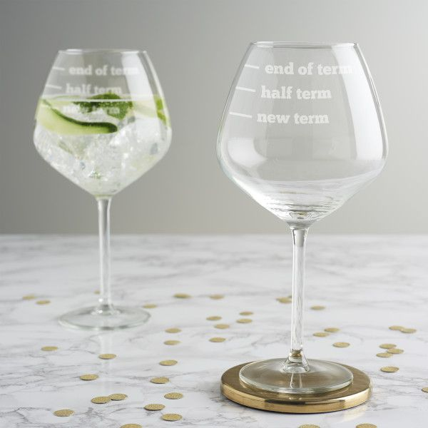 Gifts for mum Personalised Engraved Gin Glass Mothers day Gifts The Gin Queen