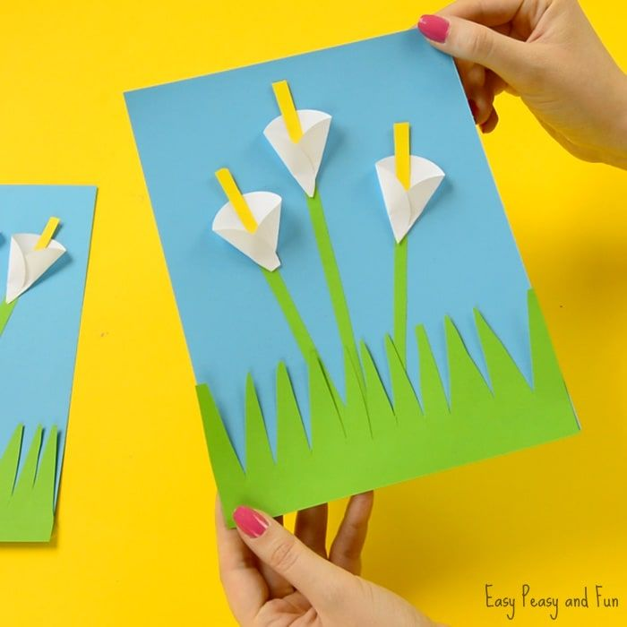 Calla Lily Paper Craft Flower Craft Ideas Flower Crafts Paper Crafts For Kids Paper Flowers Diy Easy