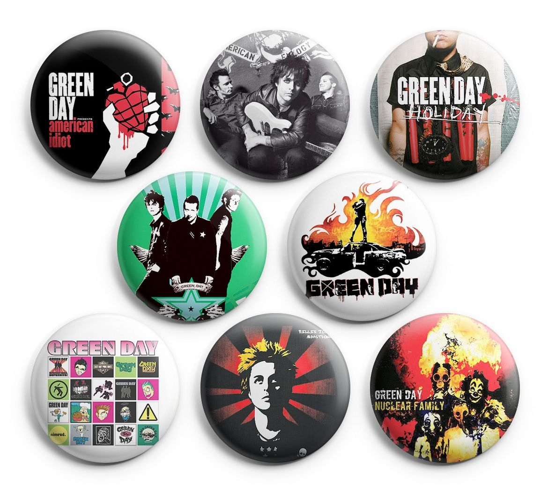 Punk Music Badge Set