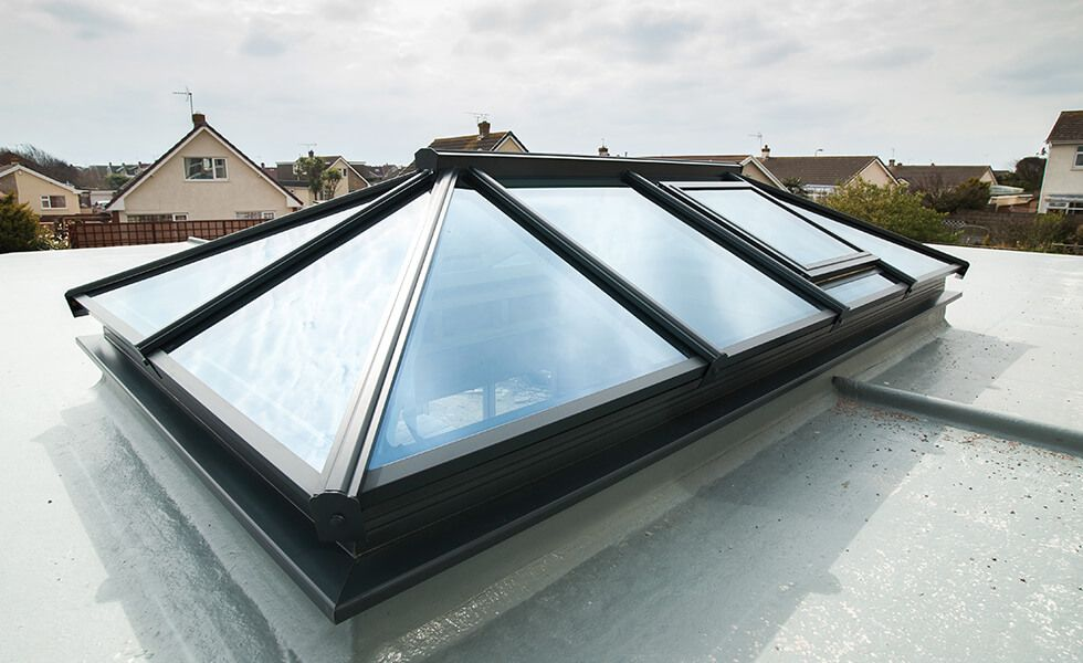 Roof Lantern In 2020 Roof Lantern Glass Roof Aluminum Roof