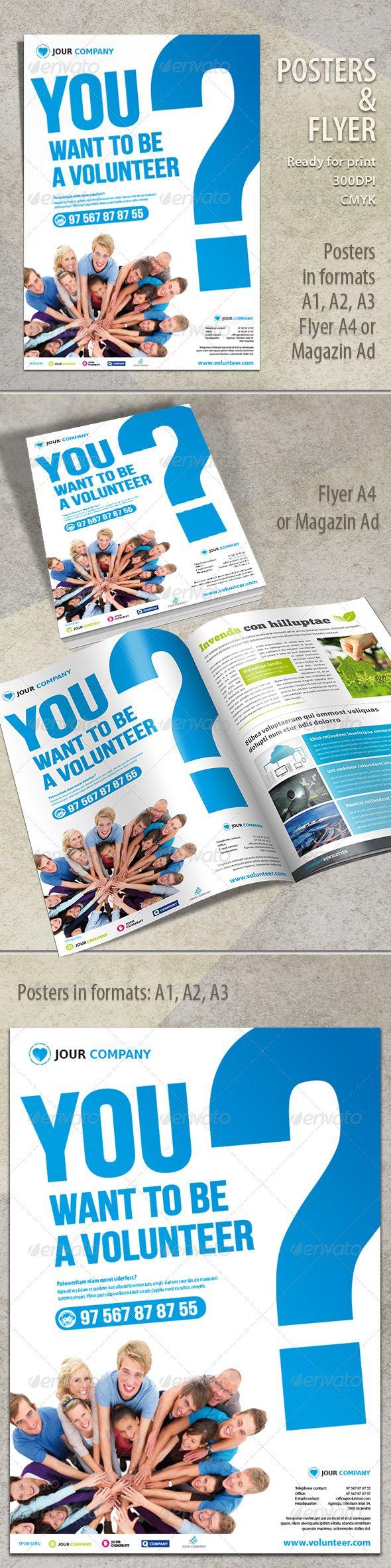 Poster design volunteer - Volunteer Flyer