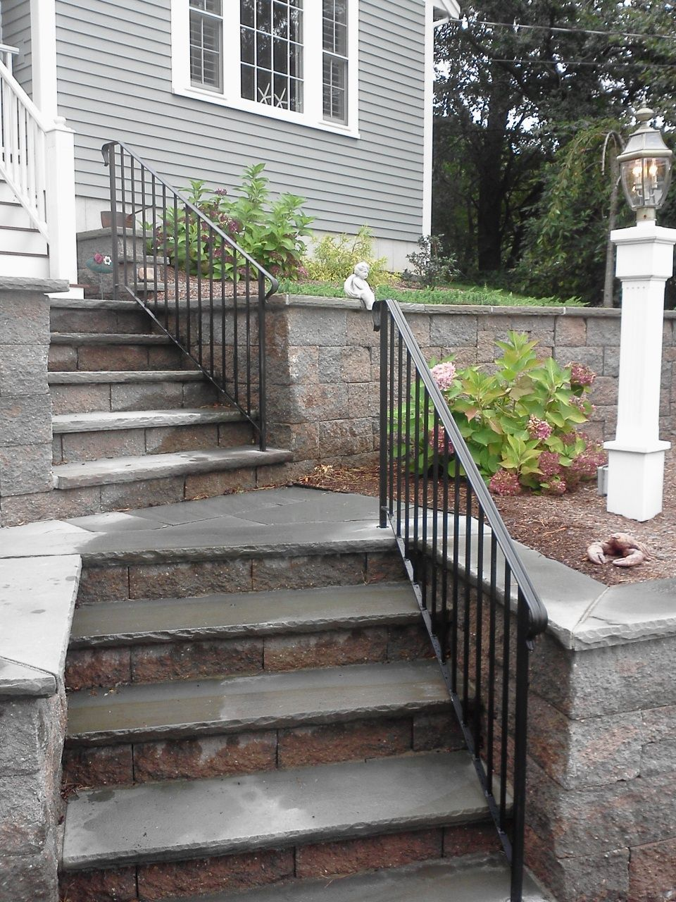 Rails For Front Steps Curb Appeal Front Porch Railings