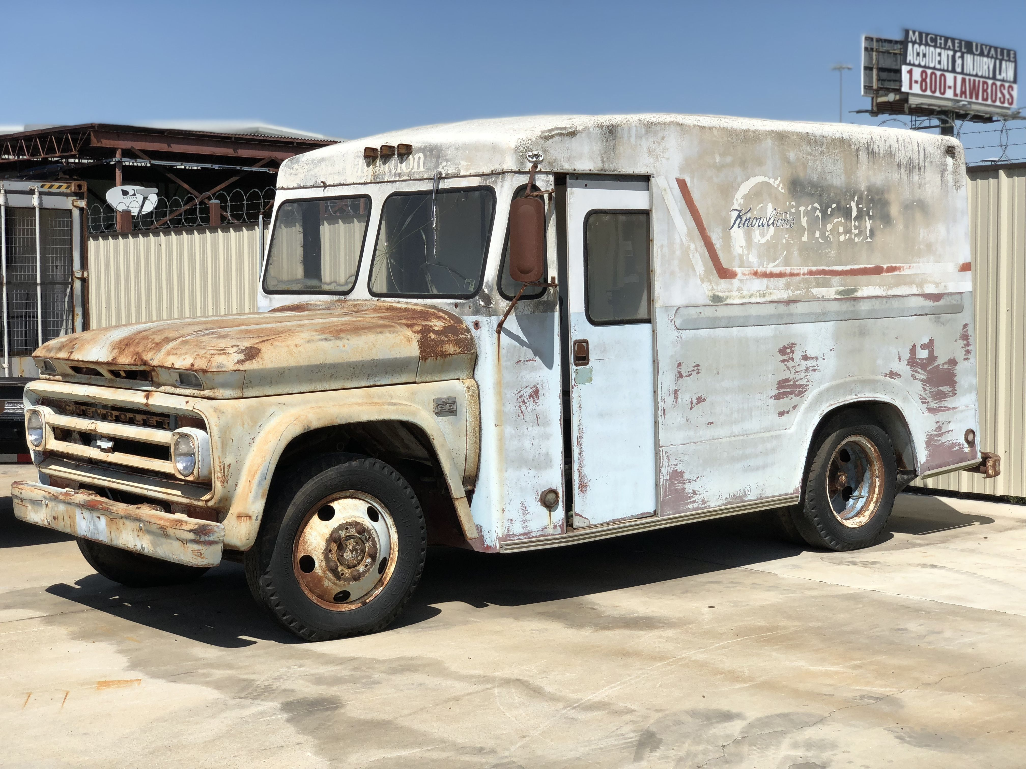 No Reserve 1966 Chevrolet C 50 Milk And Ice Cream Delivery