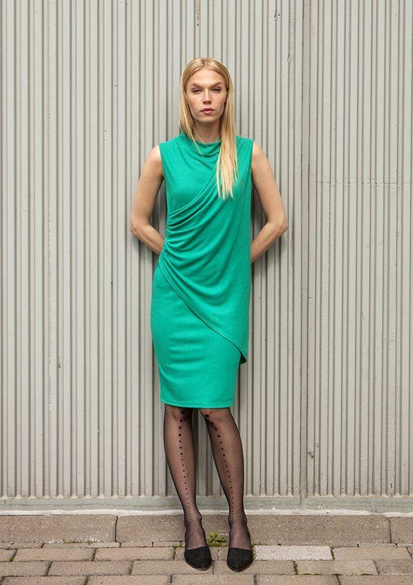 ca941da2301 Monalisa dress and Vogue by Katri Niskanen tights   Nanso by Katri Niskanen  SS 2016