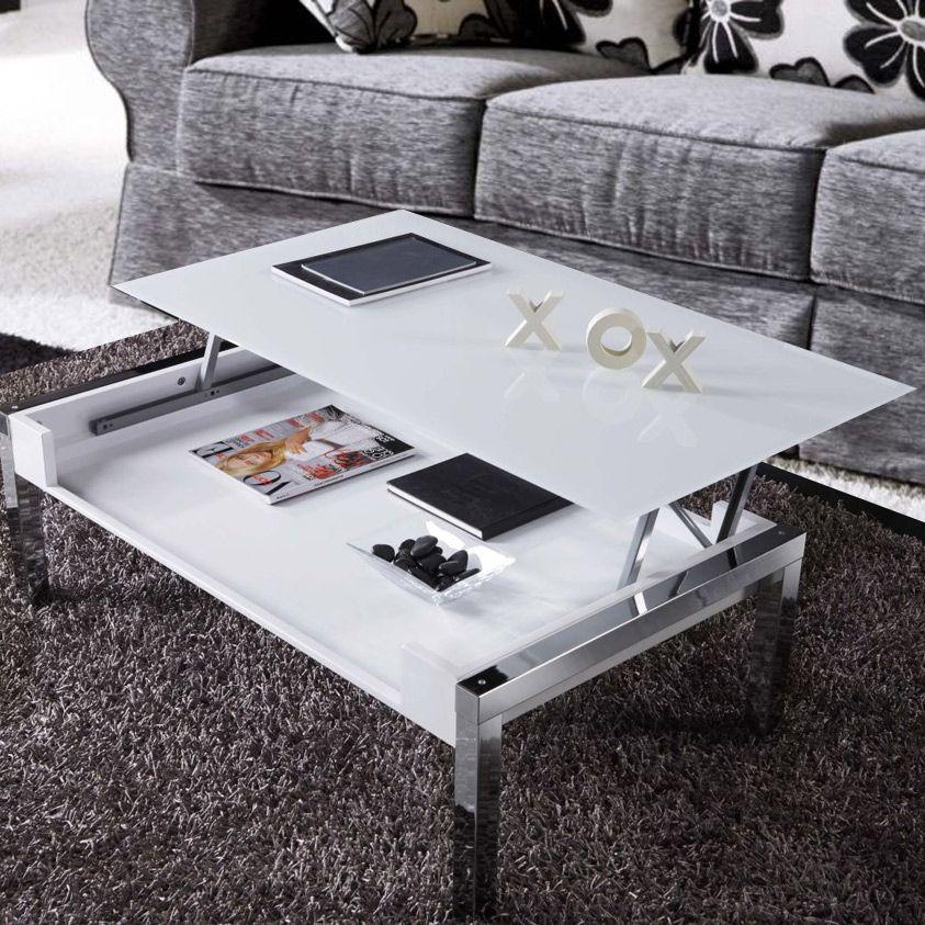 Torrance mesa de centro elevable de dise o moderna y - Mesa centro diseno ...