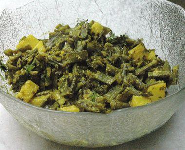 Govaricheshenga, Govarphalli or Cluster Beans Bhaji - thecookscottage