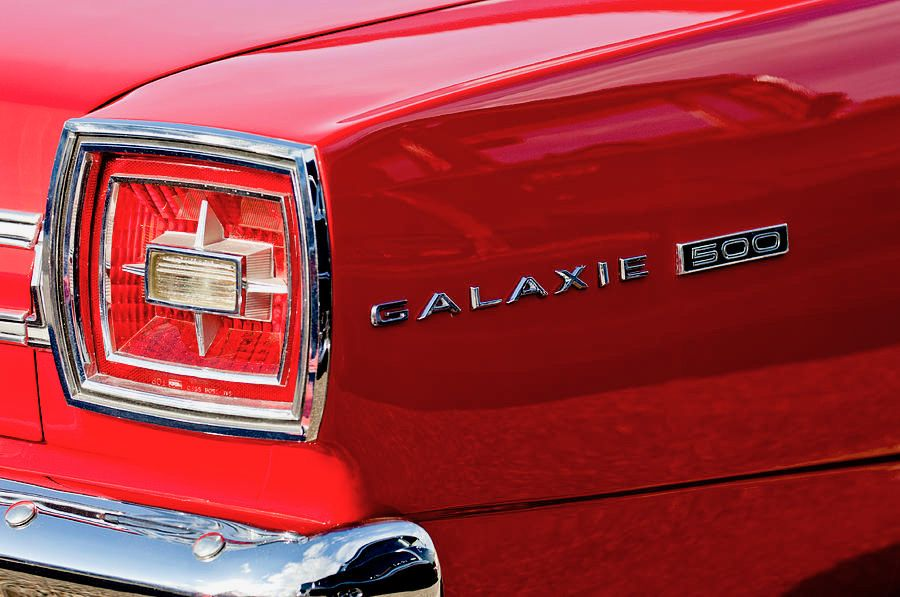1966 Ford Galaxie 500 Convertible. Sleek and stylish as ever.