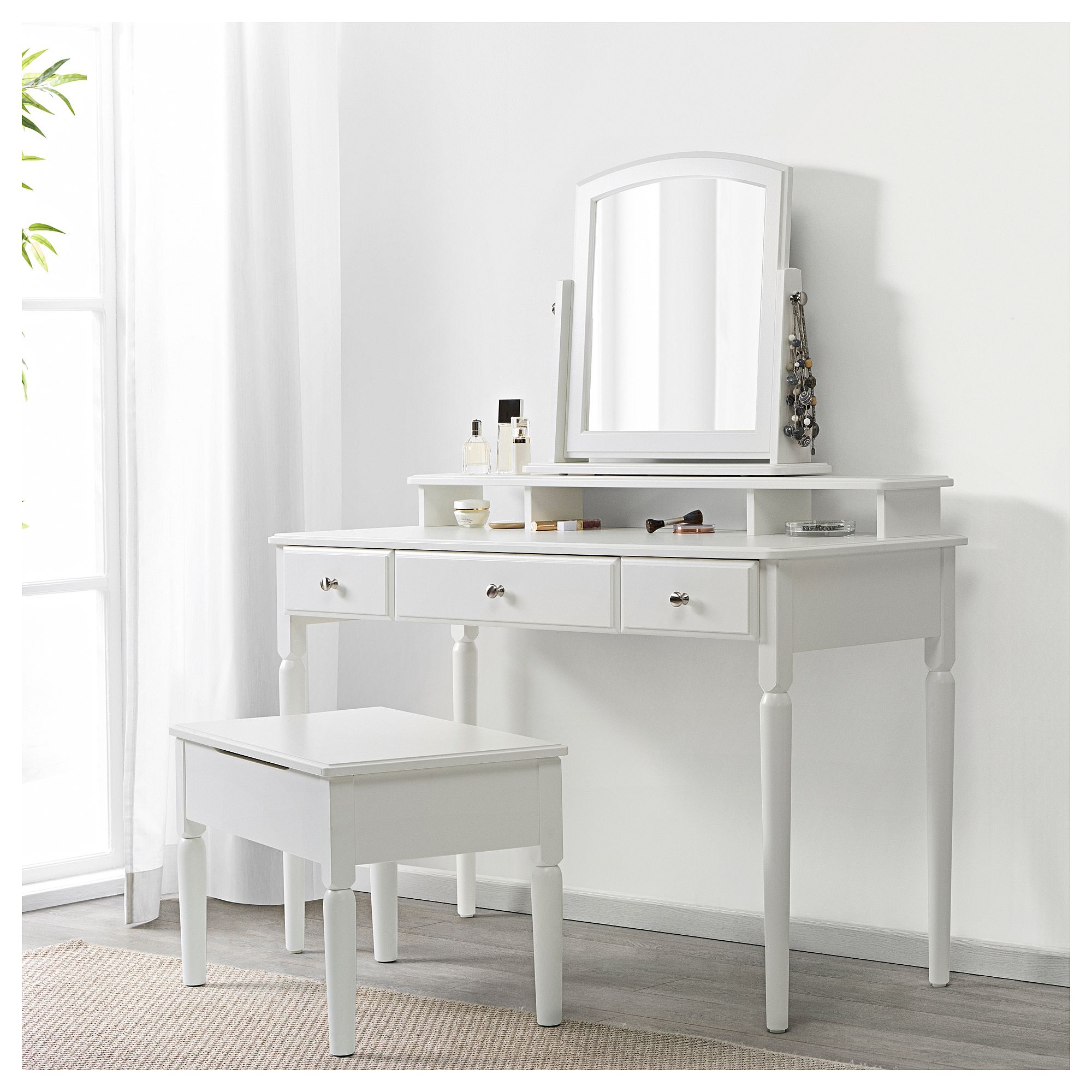 Ikea Dressing Table Ikea Tyssedal Dressing Table White Bedroom Dressing Table