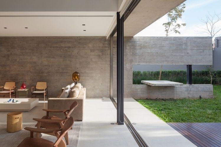 casas em concreto aparente - Pesquisa Google | arquitetura ...