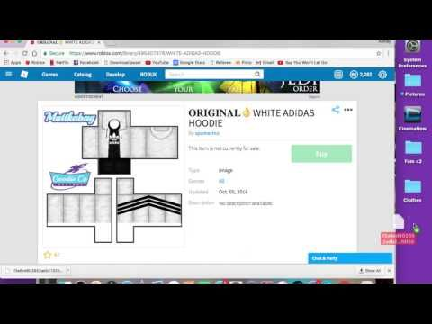 How to steal/upload Roblox clothes!