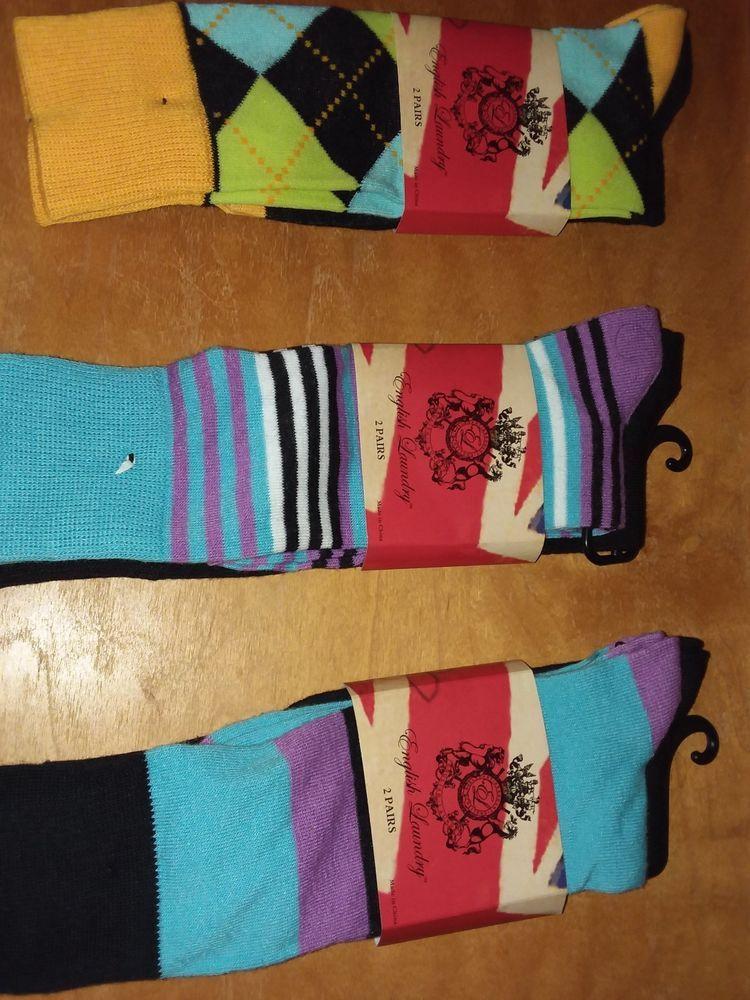 Womens English Laundry Brand Socks Fits Shoe Size 6 5 12