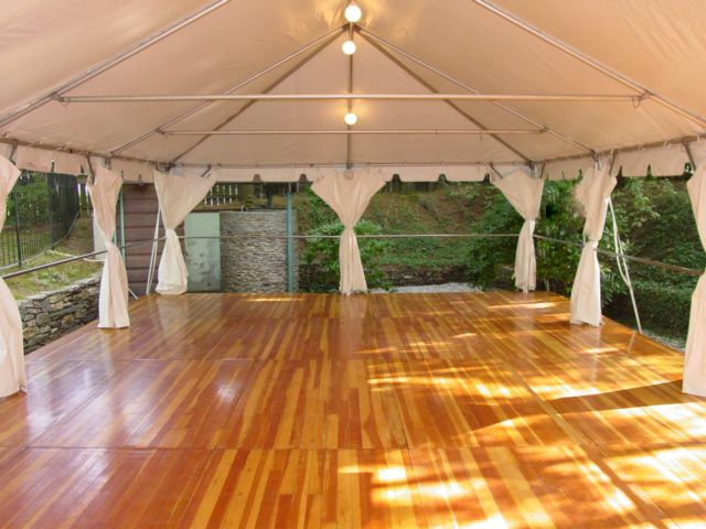 Frame tent with floor from Taylor Rental in Manchester CT & Frame tent with floor from Taylor Rental in Manchester CT | Party ...