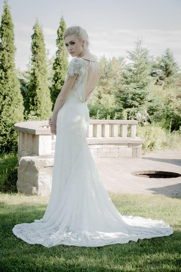 Sarah Houston Wedding Dresses 2015. To see more: www.modwedding.co... #wedding #weddings #wedding_dress