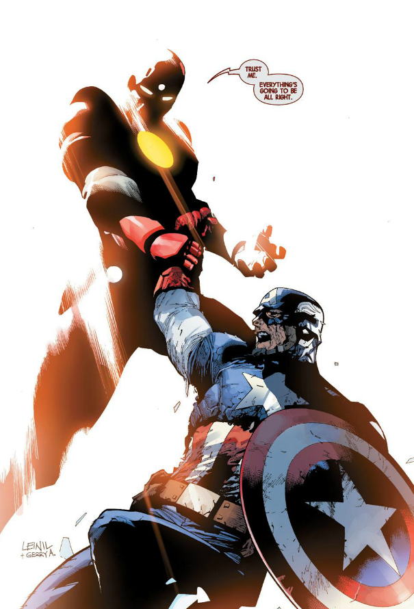 Iron Man & Captain America - AVENGERS (2012) #33