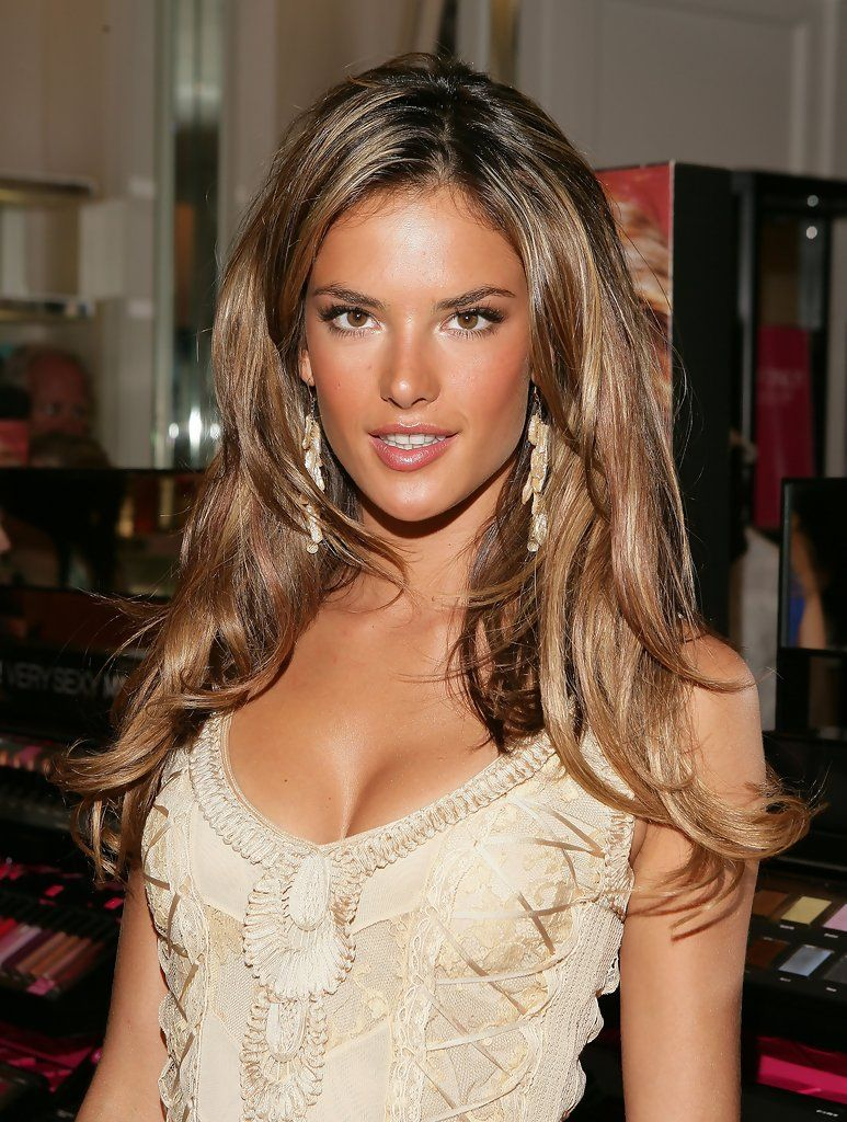 Alessandra Ambrosio My Next Hair Color Hair Colors Pinterest