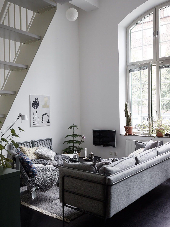 Arredamento Cucina Stile Nordico industrial style duplex home   arredamento d'interni, design