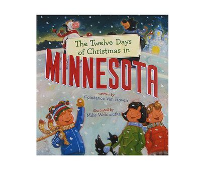 Another cute children's book about Minnesota and Christmas - two of my favorite things!