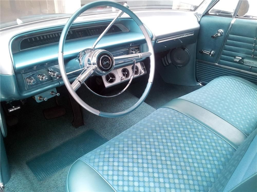 1964 Chevrolet Impala Custom 2 Door Hardtop Interior 157536 Starting A Full Restoration On