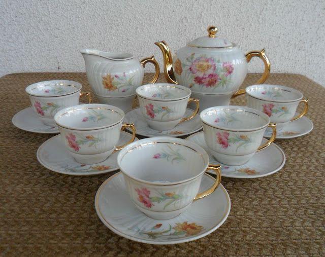 Porcelana Brasil Jogo De Cafe Porcelana Monte Alegre Jogos De Cafe Porcelana Xicaras De Porcelana