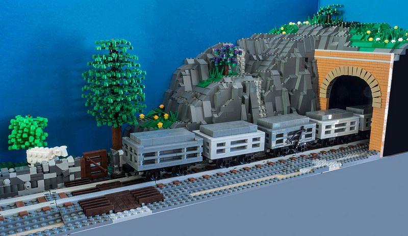 Ffestiniog Slate Wagaons | Slate, Legos and Lego trains