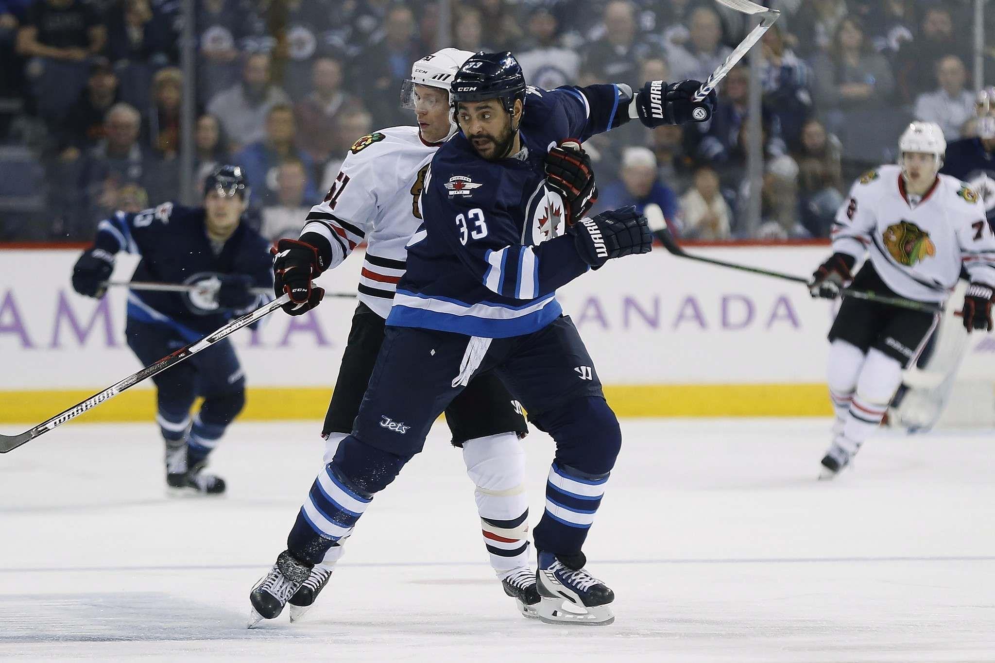 John Woods / The Canadian Press Winnipeg Jets' Dustin