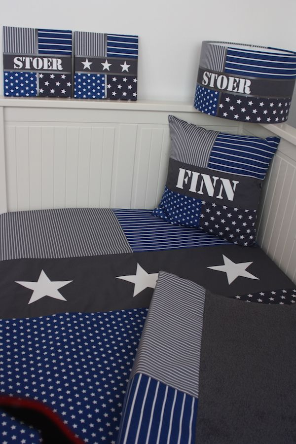 Stoere babykamerset voor Finn....
