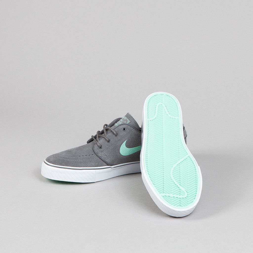 free shipping 7f252 84454 Nike SB Stefan Janoski Dark Grey - Medium Mint httpstmblr.co