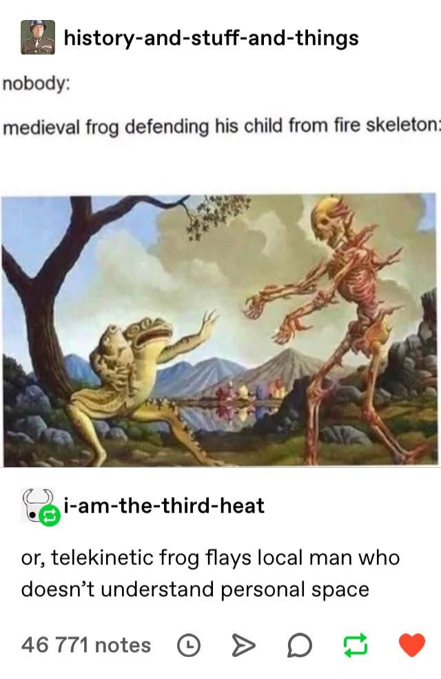 Telekinetic Frog Alone Really Narrows Things Down Haha Funny Stupid Funny Memes Funny Pictures