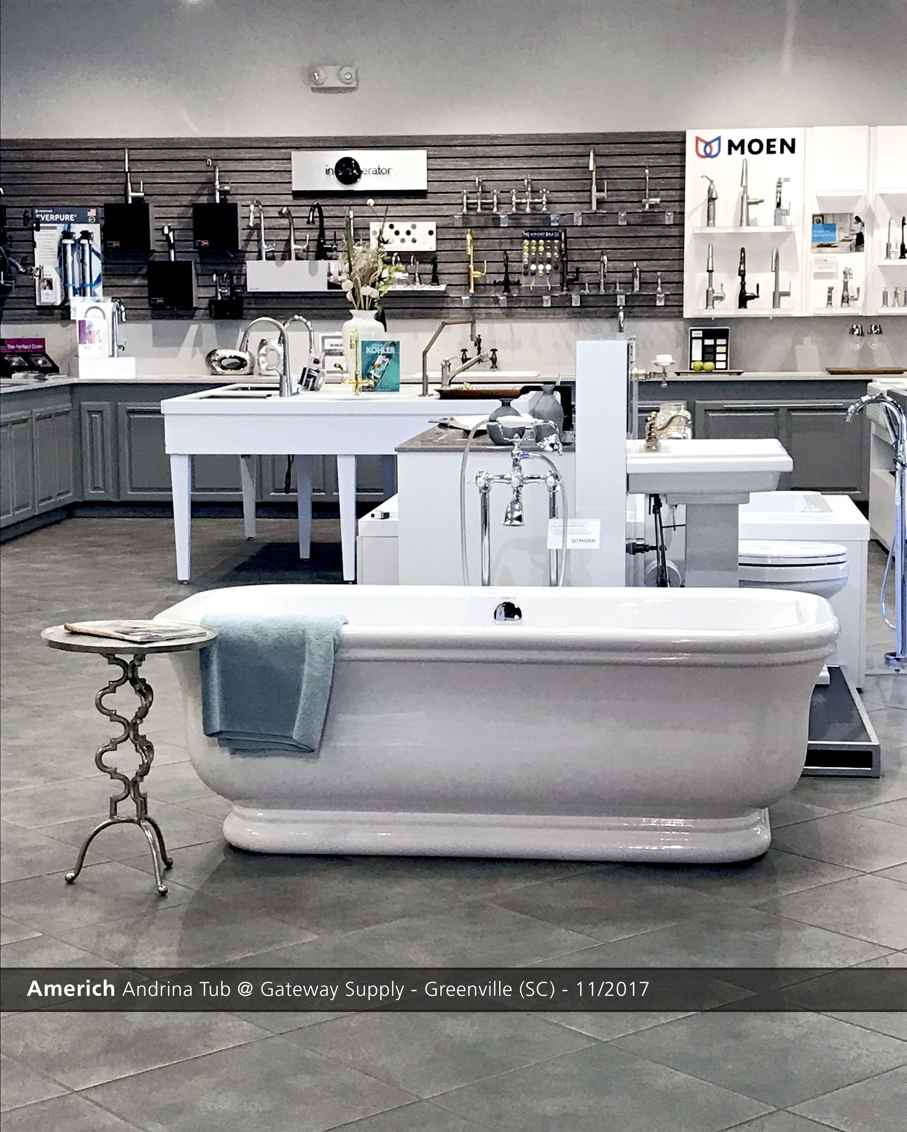 Coastal Plumbing Supply Kitchen Bath Showroom: Americh Andrina Tub @ Gateway Supply