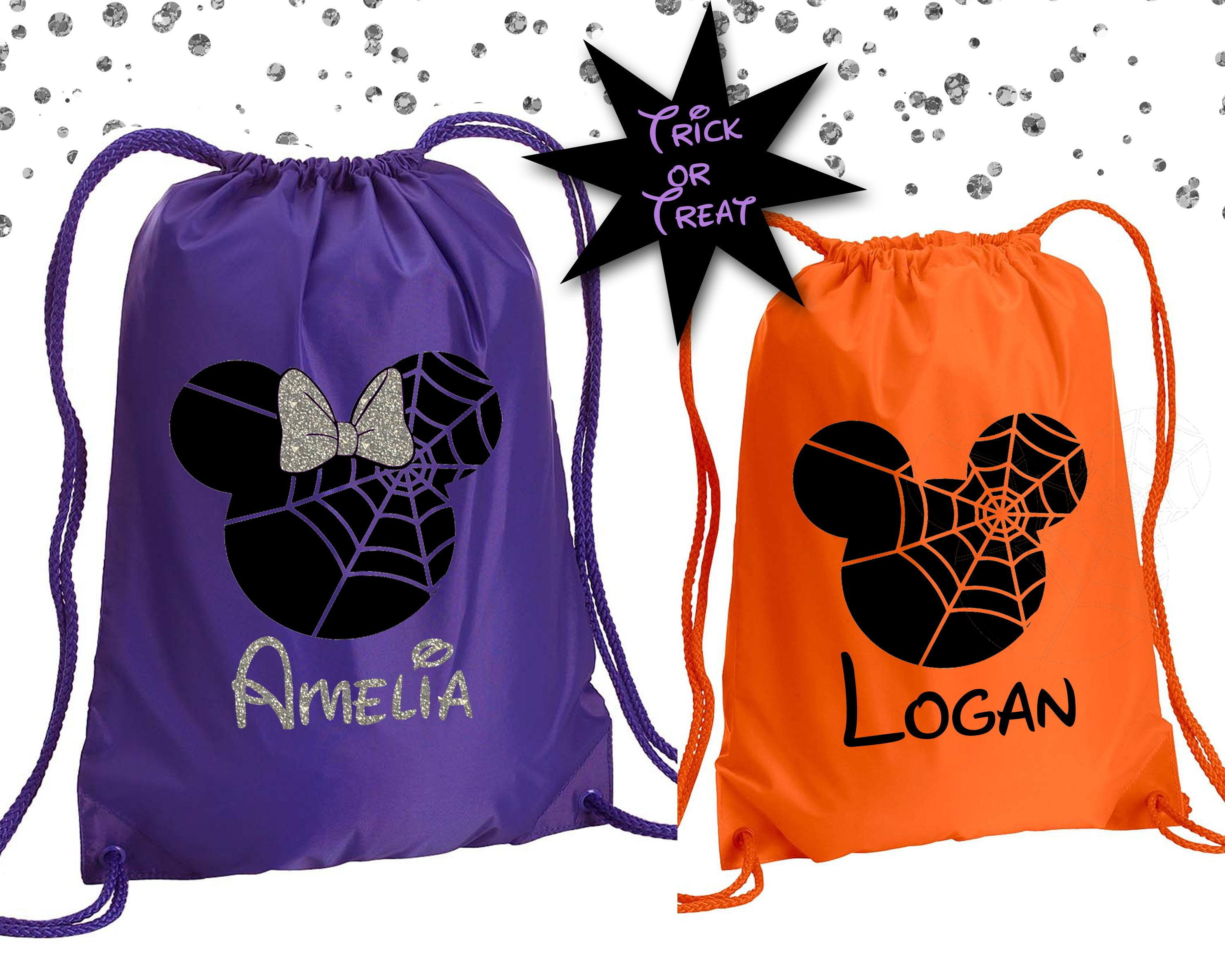 Halloween Trick Or Treat Amelia Ohio 2020 Disney Halloween Bag Disney Trick or Treat BagPersonalized | Etsy