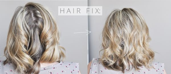 hair fix: the dreaded back part   hair fixing, parting