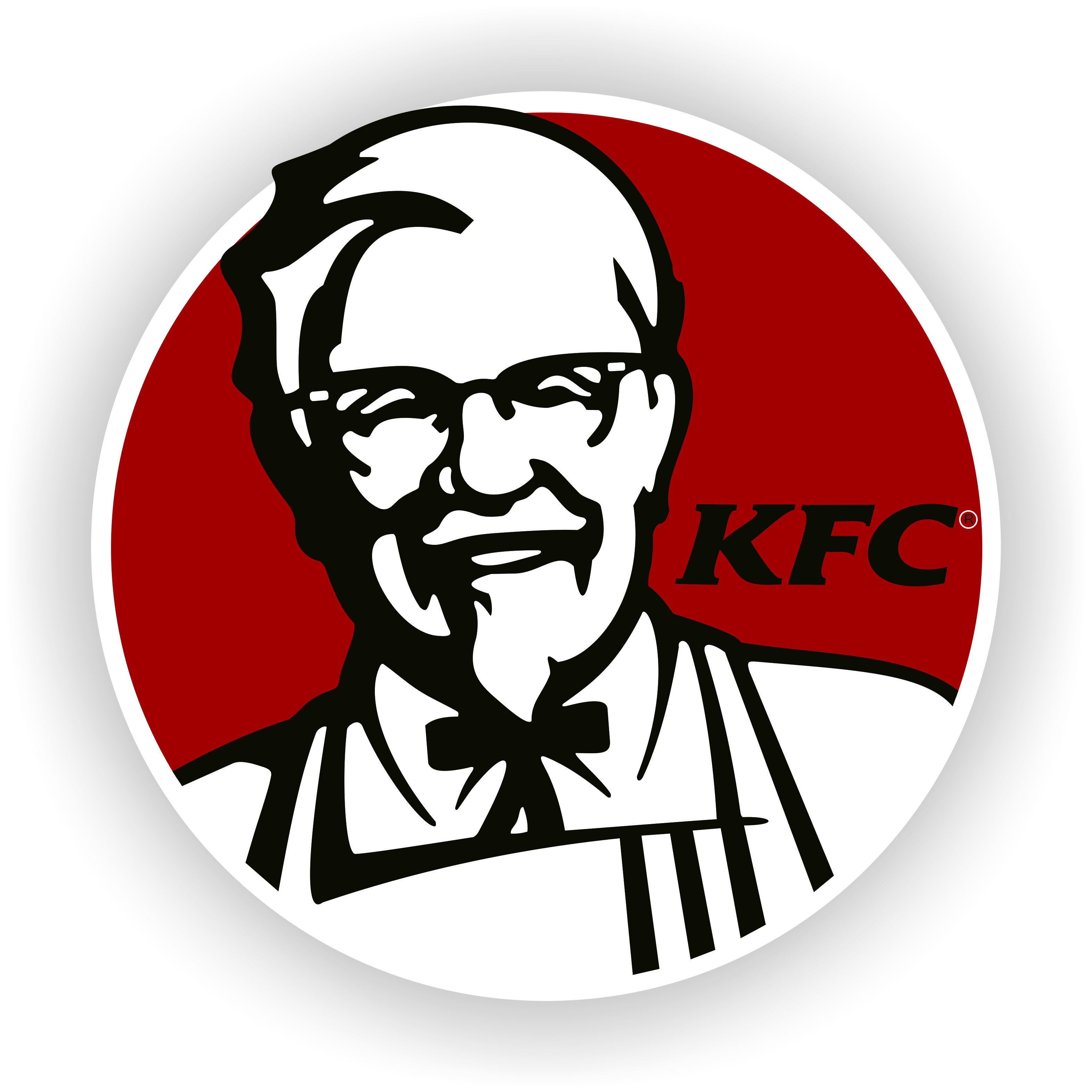 tracing logo kfc vector corel draw x6 logos