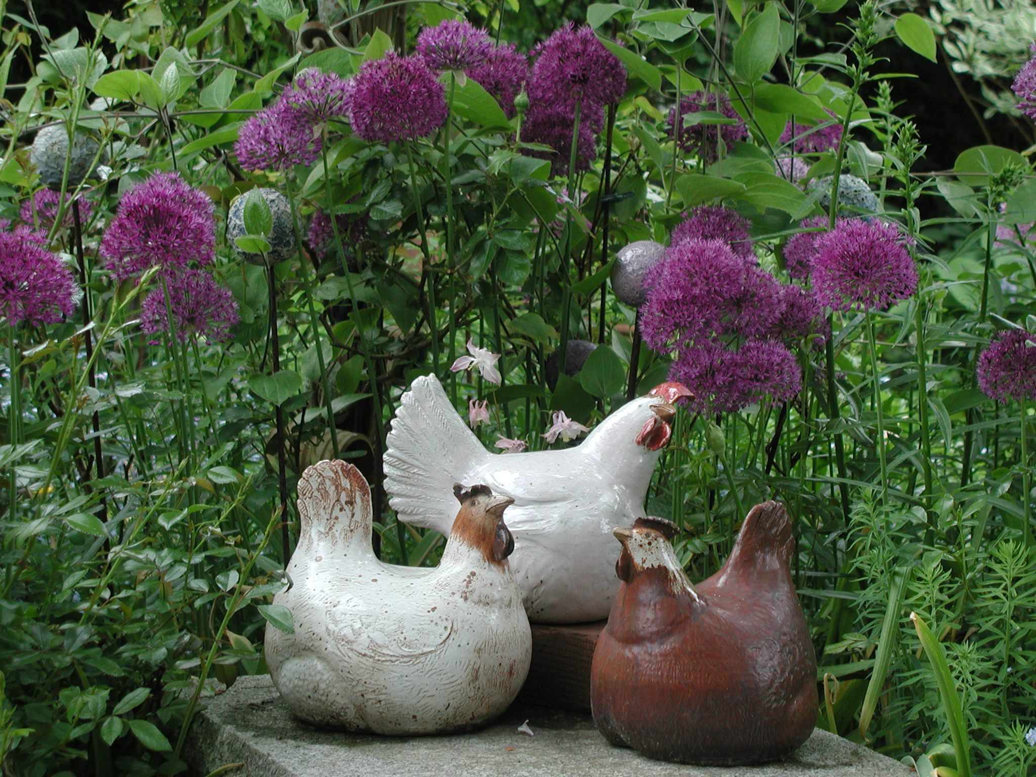 Pin von brigitte peglow auf gartenschmuckst cke aus keramik von brigitte peglow pinterest - Gartenbrunnen keramik ...