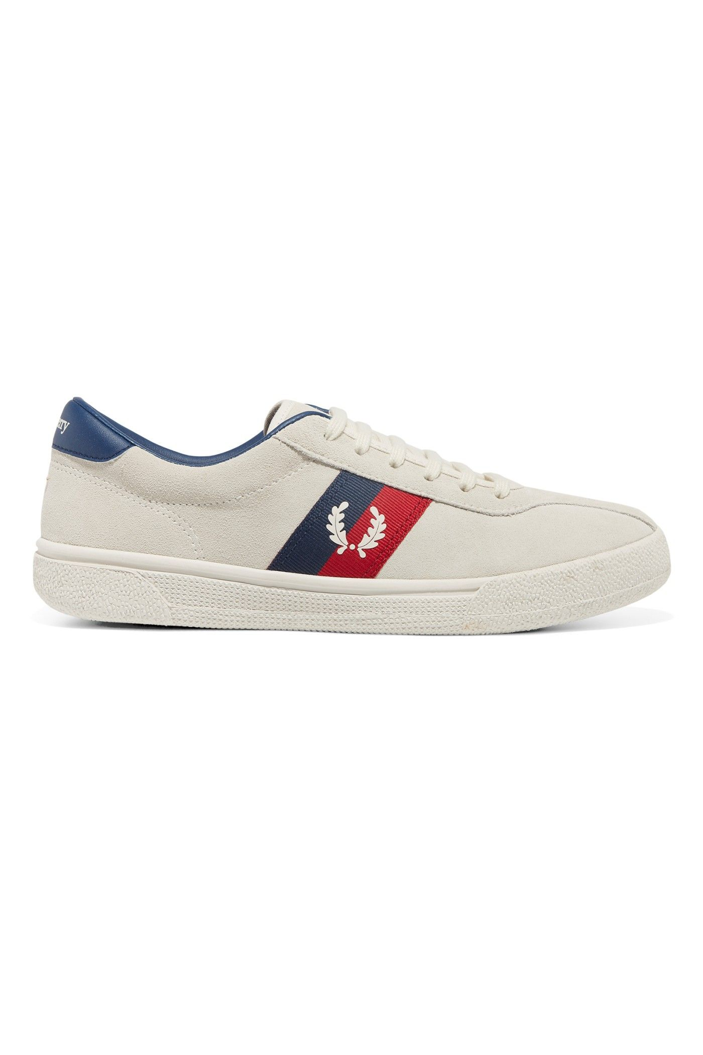 competitive price 63d18 75064 Fred Perry - Sports Authentic B1 Tennis Shoe Suede Snow White