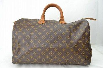 752d17dd1d8c Louis Vuitton Speedy 40 Browns Monogram Pvc Boston Bag. Satchel ...