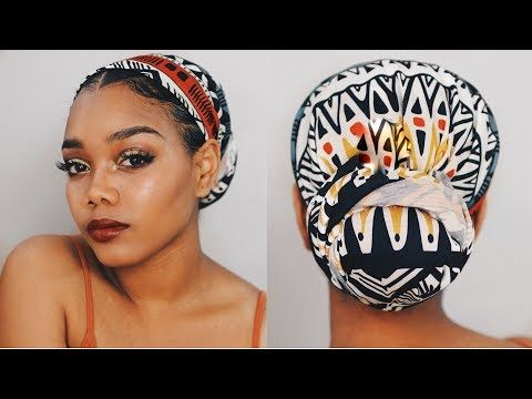 5 Easy Head Wrap Tutorials To Try Before Your Next Zoom Meeting - Essence