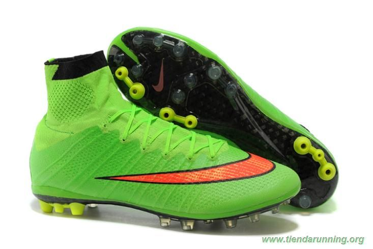 0db581bba40 Nike Mercurial Superfly X AG ACC Verde tienda zapatillas running ...
