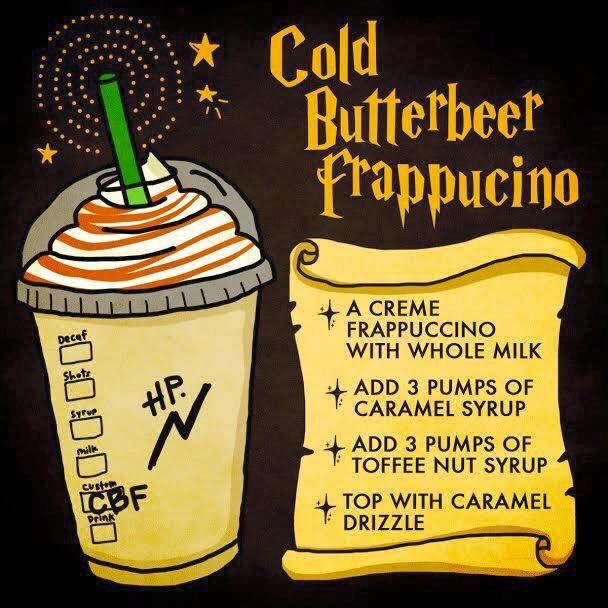 Starbucks butter beer recipe