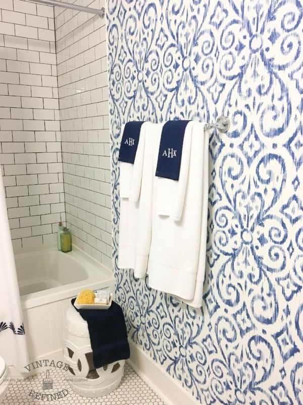 Master Bathroom Renovation Reveal Bathroom Room Wallpaper